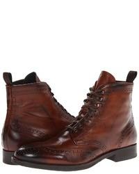 коричневые ботинки броги original 6703321
