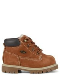 Детские коричневые ботинки для мальчиков от Lugz