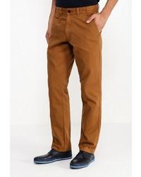 Коричневые брюки чинос от Barbour
