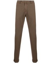 Коричневые брюки чинос от Briglia 1949