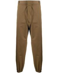 Коричневые брюки чинос от Diesel