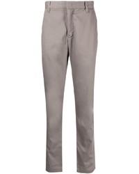 Коричневые брюки чинос от Emporio Armani