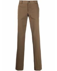 Коричневые брюки чинос от Etro