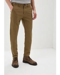 Коричневые брюки чинос от la Biali