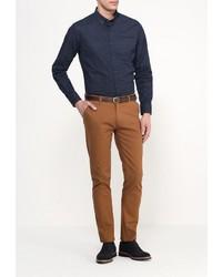 Коричневые брюки чинос от Medicine