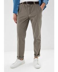 Коричневые брюки чинос от MEYER