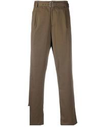 Коричневые брюки чинос от Neil Barrett