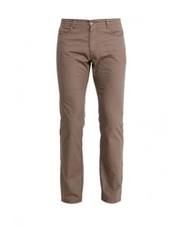 Коричневые брюки чинос от Piazza Italia