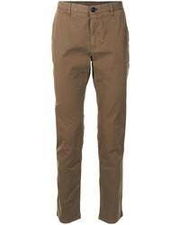 Коричневые брюки чинос от PS Paul Smith
