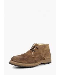 Коричневые замшевые ботинки дезерты от El Tempo