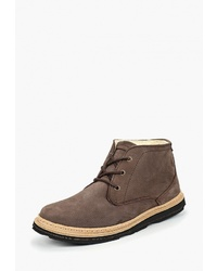 Коричневые замшевые ботинки дезерты от Storm