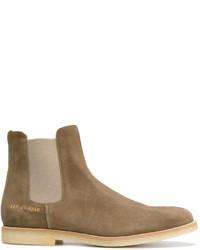 Мужские коричневые замшевые ботинки челси от Common Projects