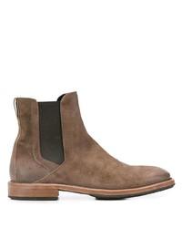 Мужские коричневые замшевые ботинки челси от Moma