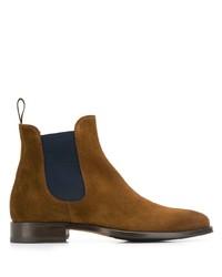 Мужские коричневые замшевые ботинки челси от Scarosso