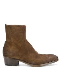 Мужские коричневые замшевые ботинки челси от Silvano Sassetti
