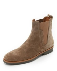 Мужские коричневые замшевые ботинки челси от Vince