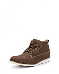 Мужские коричневые замшевые ботинки от Reflex