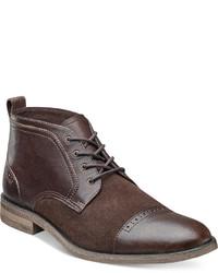 Коричневые замшевые повседневные ботинки
