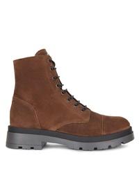 Мужские коричневые замшевые повседневные ботинки от Giuseppe Zanotti
