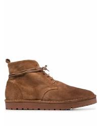 Мужские коричневые замшевые повседневные ботинки от Marsèll