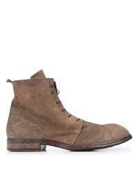 Мужские коричневые замшевые повседневные ботинки от Moma