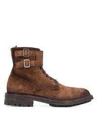 Мужские коричневые замшевые повседневные ботинки от Officine Creative