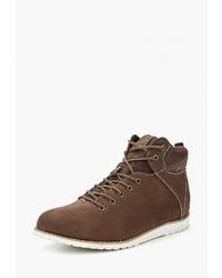Мужские коричневые замшевые повседневные ботинки от Reflex