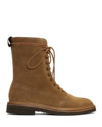 Мужские коричневые замшевые повседневные ботинки от Rhude