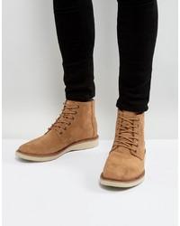 Мужские коричневые замшевые повседневные ботинки от Toms