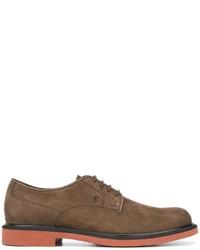 Мужские коричневые замшевые туфли дерби от Tod's