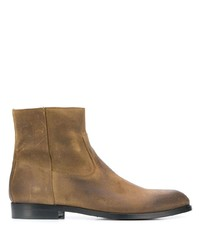 Мужские коричневые кожаные ботинки челси от Buttero