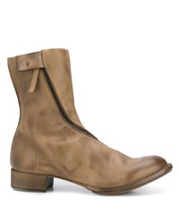 Мужские коричневые кожаные ботинки челси от Cherevichkiotvichki
