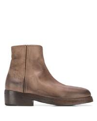 Мужские коричневые кожаные ботинки челси от Marsèll
