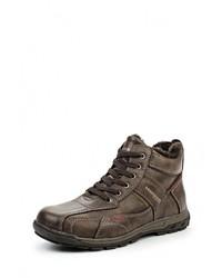 Мужские коричневые кожаные ботинки от Hanson