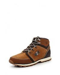 Мужские коричневые кожаные ботинки от Helly Hansen