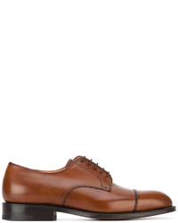 Мужские коричневые кожаные оксфорды от Church's