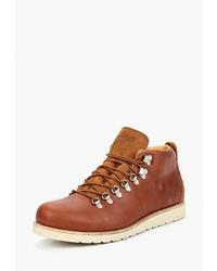 Мужские коричневые кожаные повседневные ботинки от Affex