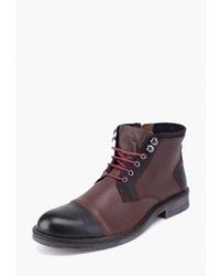 Мужские коричневые кожаные повседневные ботинки от Airbox