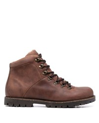Мужские коричневые кожаные повседневные ботинки от Birkenstock