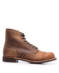 Мужские коричневые кожаные повседневные ботинки от Red Wing Shoes