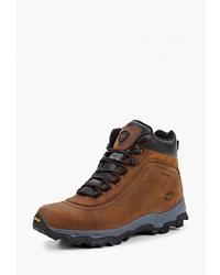 Мужские коричневые кожаные рабочие ботинки от Ascot
