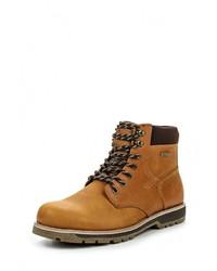 Мужские коричневые кожаные рабочие ботинки от Patrol