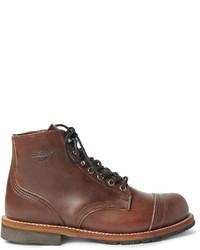 Мужские коричневые кожаные рабочие ботинки от Thorogood