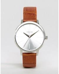 Женские коричневые кожаные часы от Nixon