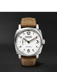 Мужские коричневые кожаные часы от Panerai