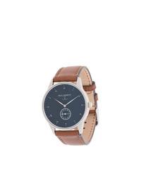 Мужские коричневые кожаные часы от PAUL HEWITT
