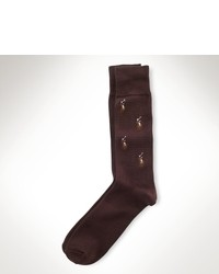 Коричневые носки