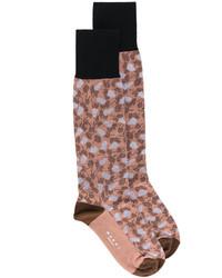 Женские коричневые носки от Marni