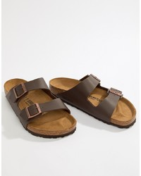 Мужские коричневые сандалии от Birkenstock