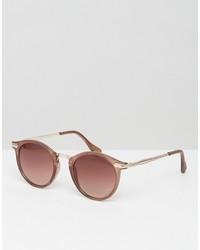 Мужские коричневые солнцезащитные очки от A. J. Morgan